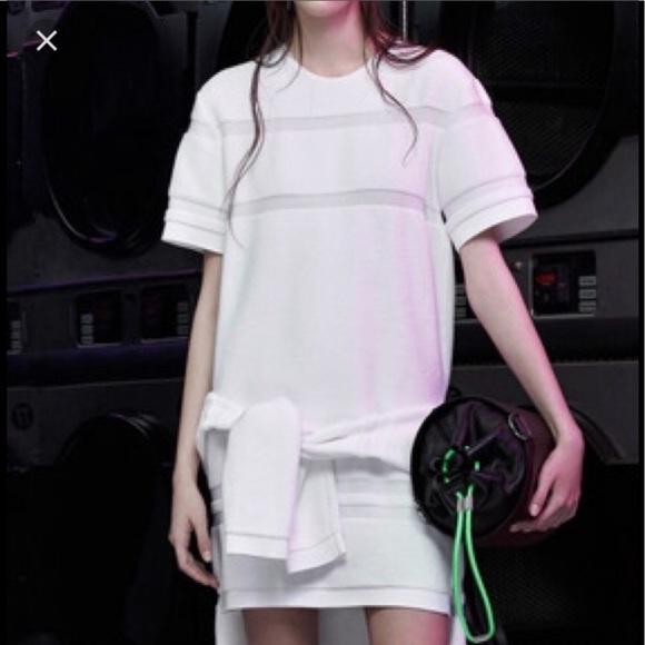 f26473f7a02 ALEXANDER WANG towel white mini dress XS  795